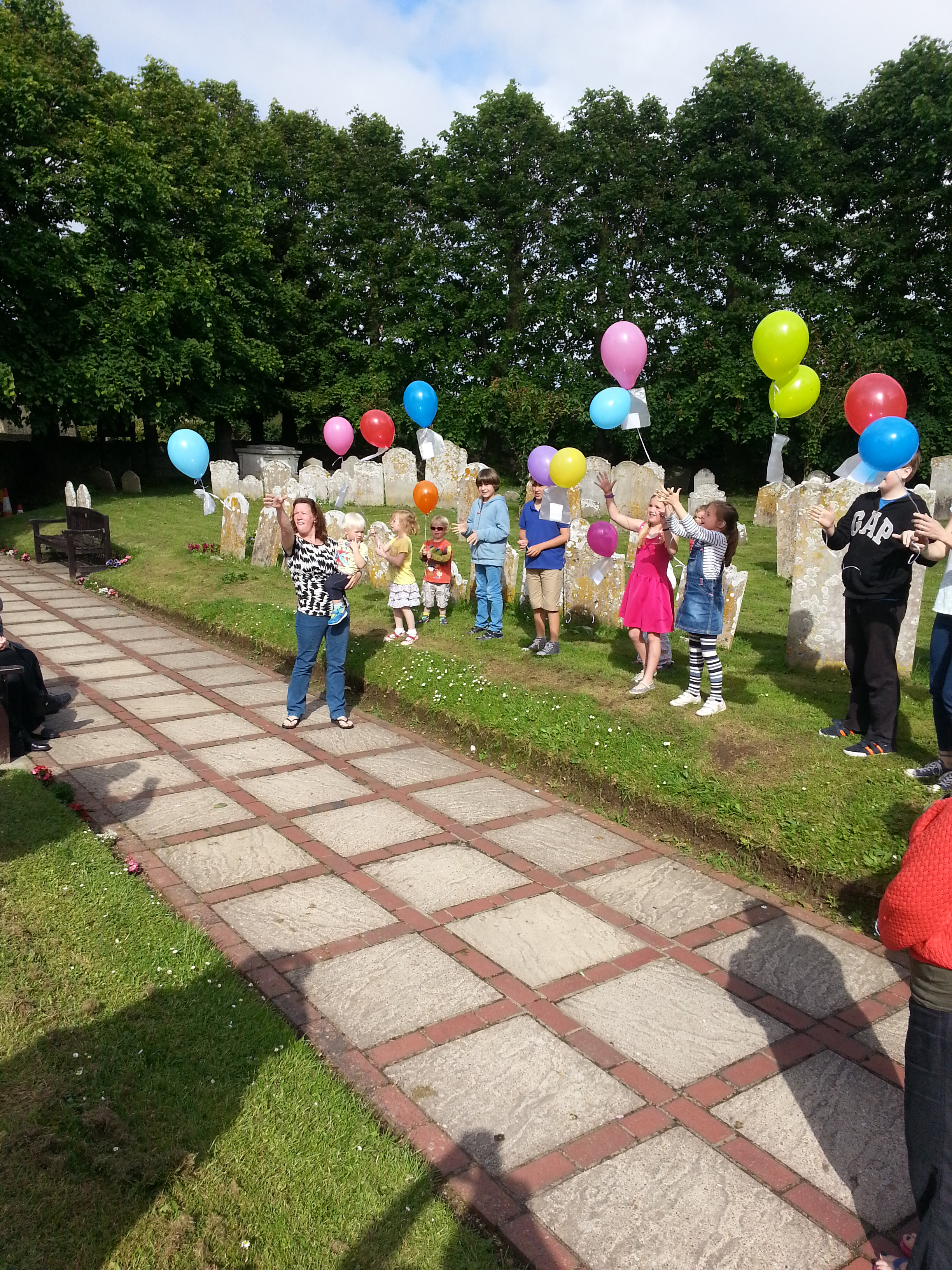 Ascension Day Balloons – 29th May 2014